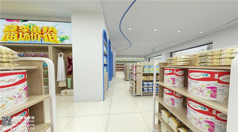 杭州母婴店装修